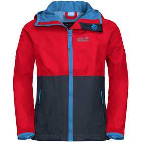 Jack Wolfskin Rainy Days Jas Kinderen, peak red